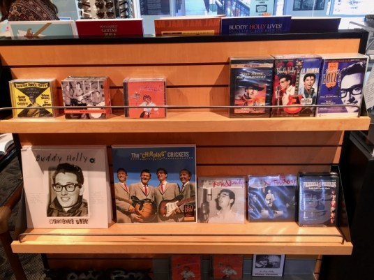 Buddy Holly Center Books