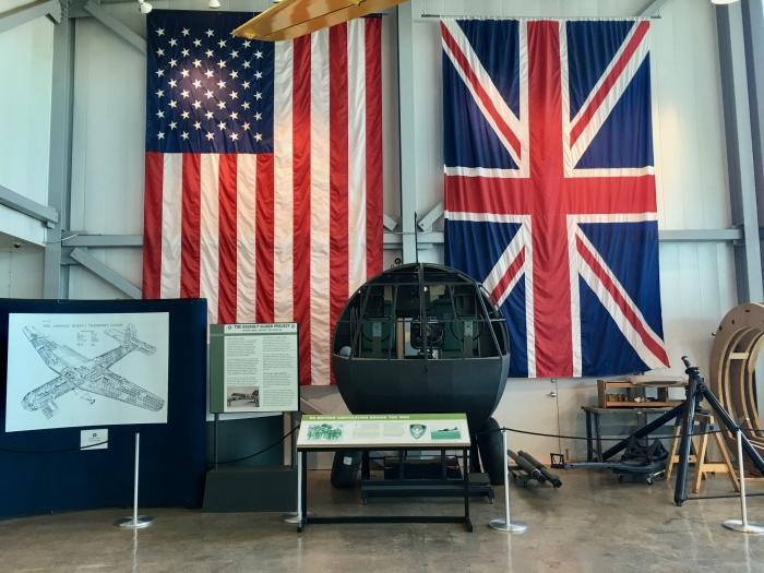 Silent Wings Museum Lubbock Texas Flags