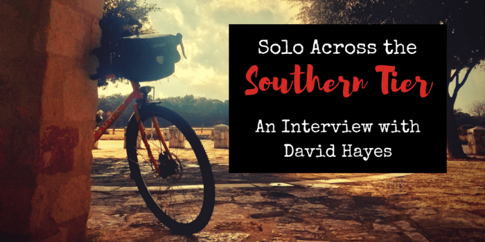 A Solo Ride Across the - A Solo Bike Ride Across the Southern Tier