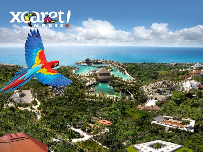 xcaret park aerial - Xcaret Day of the Dead Festival