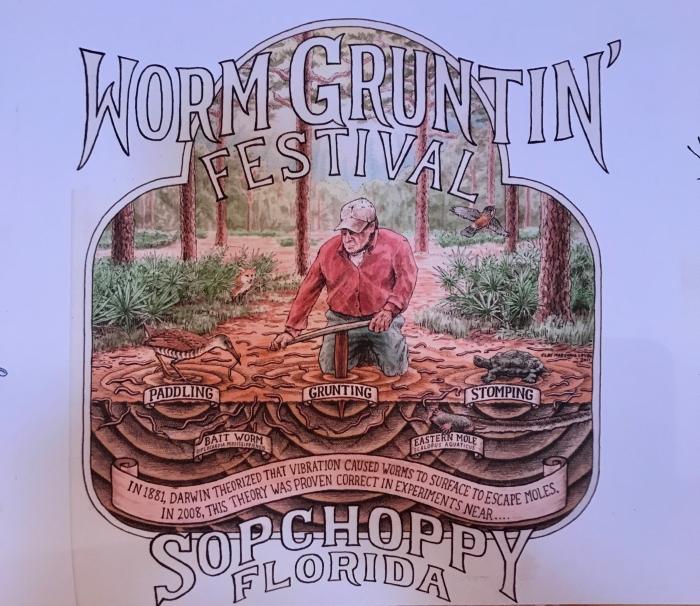 IMG 2894 - Florida Travel: The Sopchoppy Worm Gruntin' Festival