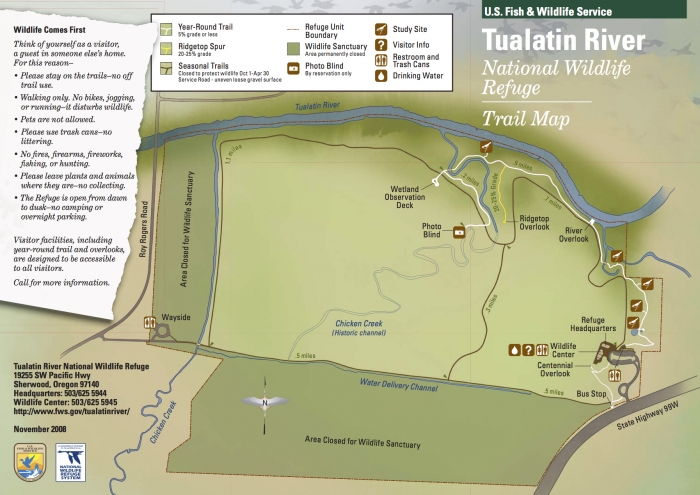 Trail Map - Vineyards & Valleys: An Oregon Scenic Drive