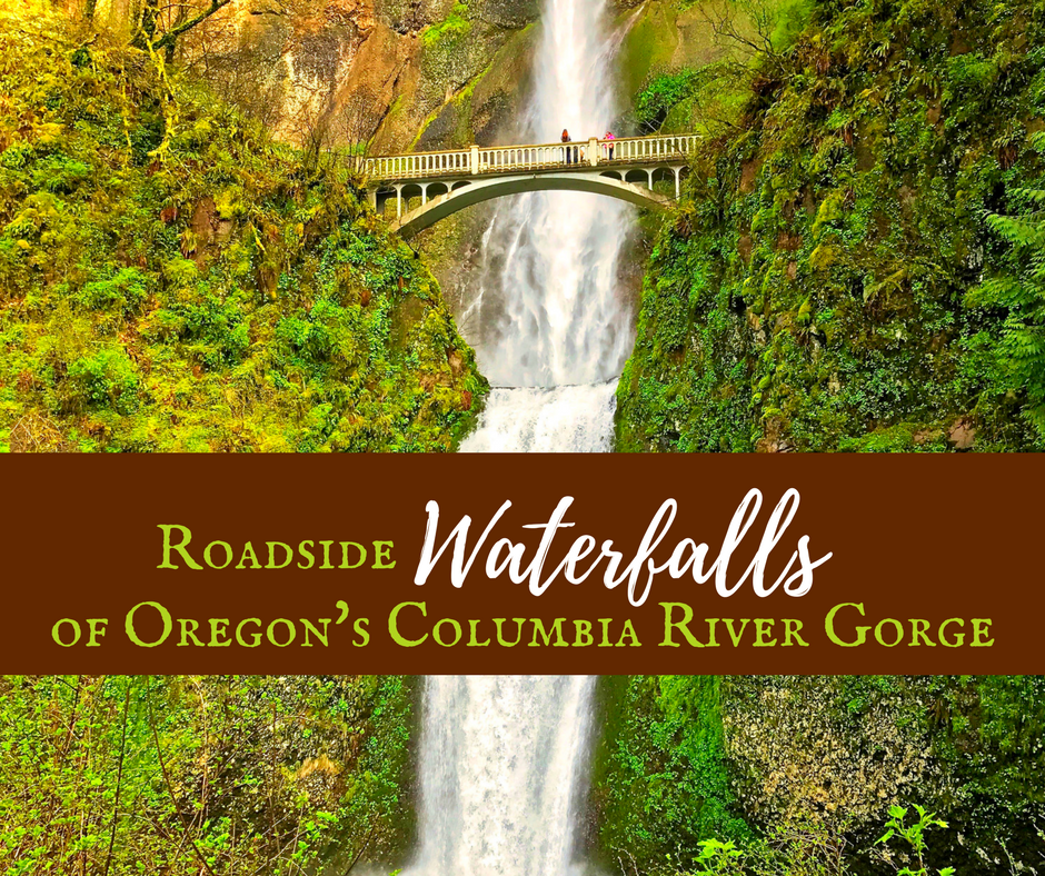 Columbia River Gorge Waterfalls - Roadside Waterfalls of Oregon's Columbia River Gorge