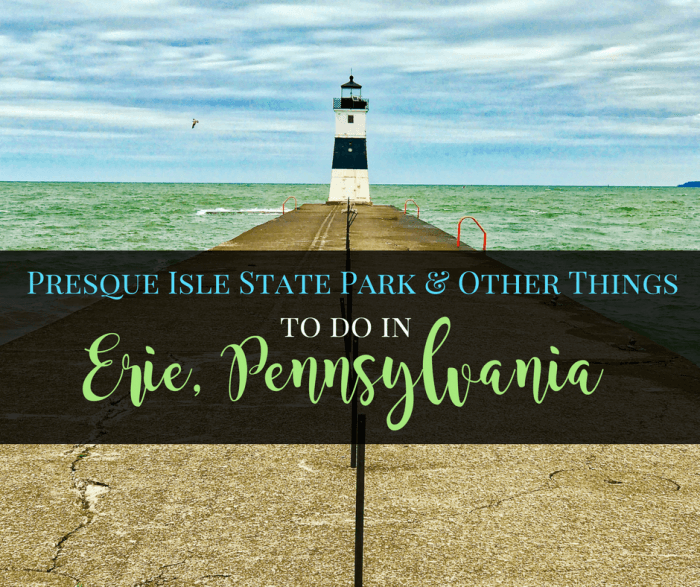 Things to Do in Erie 3 - Presque Isle State Park & Other Things to Do in Erie, Pennsylvania