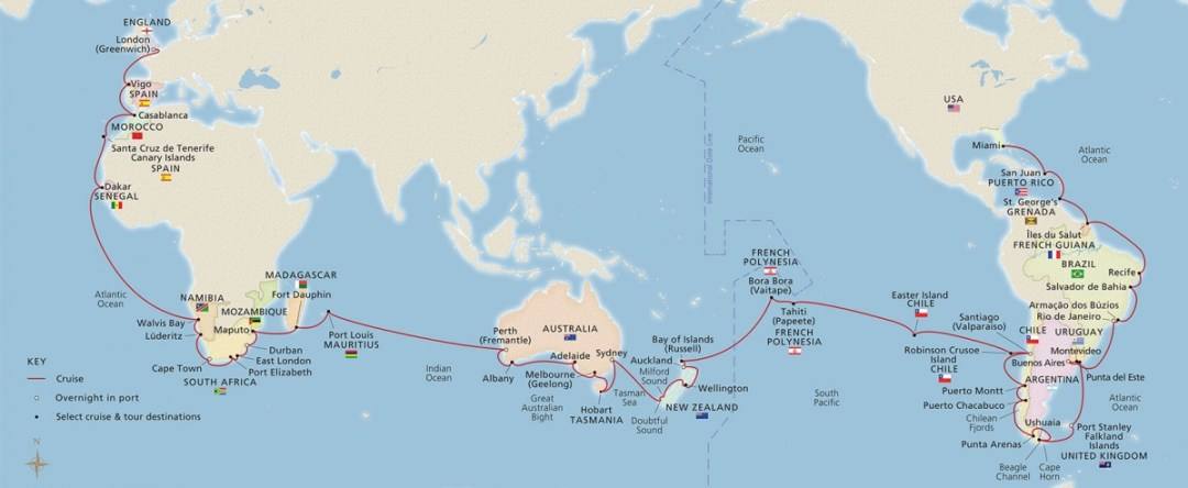 2019 World Cruise Flat Spread 1680x716 tcm13 100674 - The Viking Sun Embarks on the Inaugural World Cruise