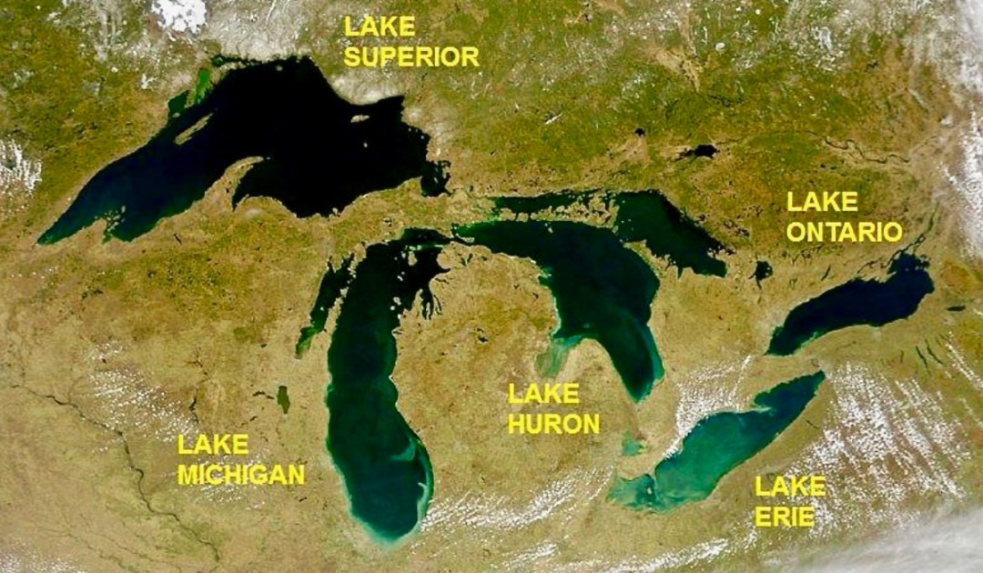 GreatLakes - The Great Lakes Tour: A Circle Road Trip Itinerary