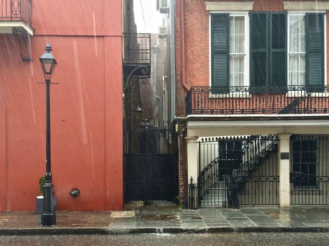 French Quarter rainstorm - Uncover the Secrets of New Orleans Neighborhoods