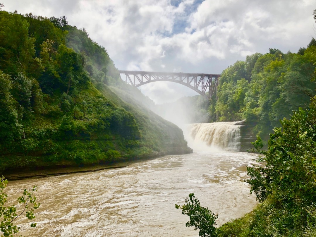 letchworth upper falls - Things to Do in Letchworth State Park
