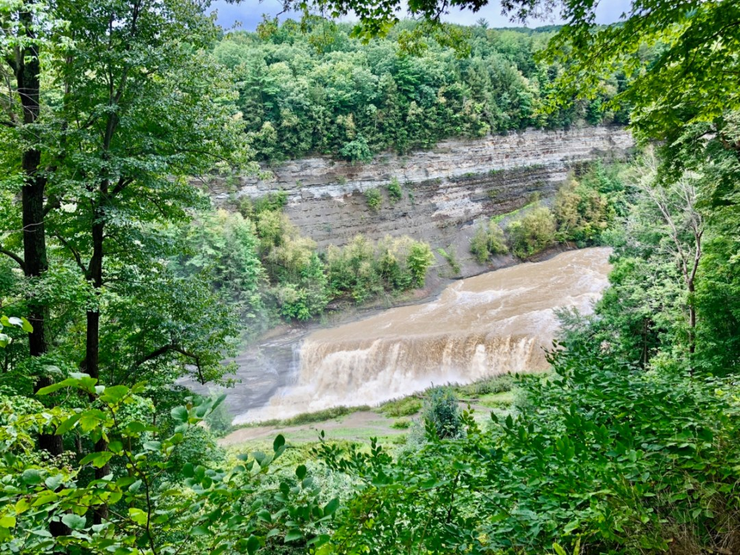 lower falls - Things to Do in Letchworth State Park