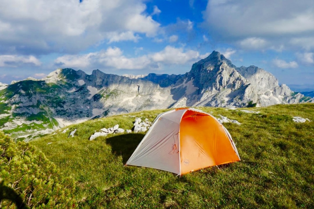 Camping with mountain view - Roadtripping, Hiking & Camping Montenegro Best Places