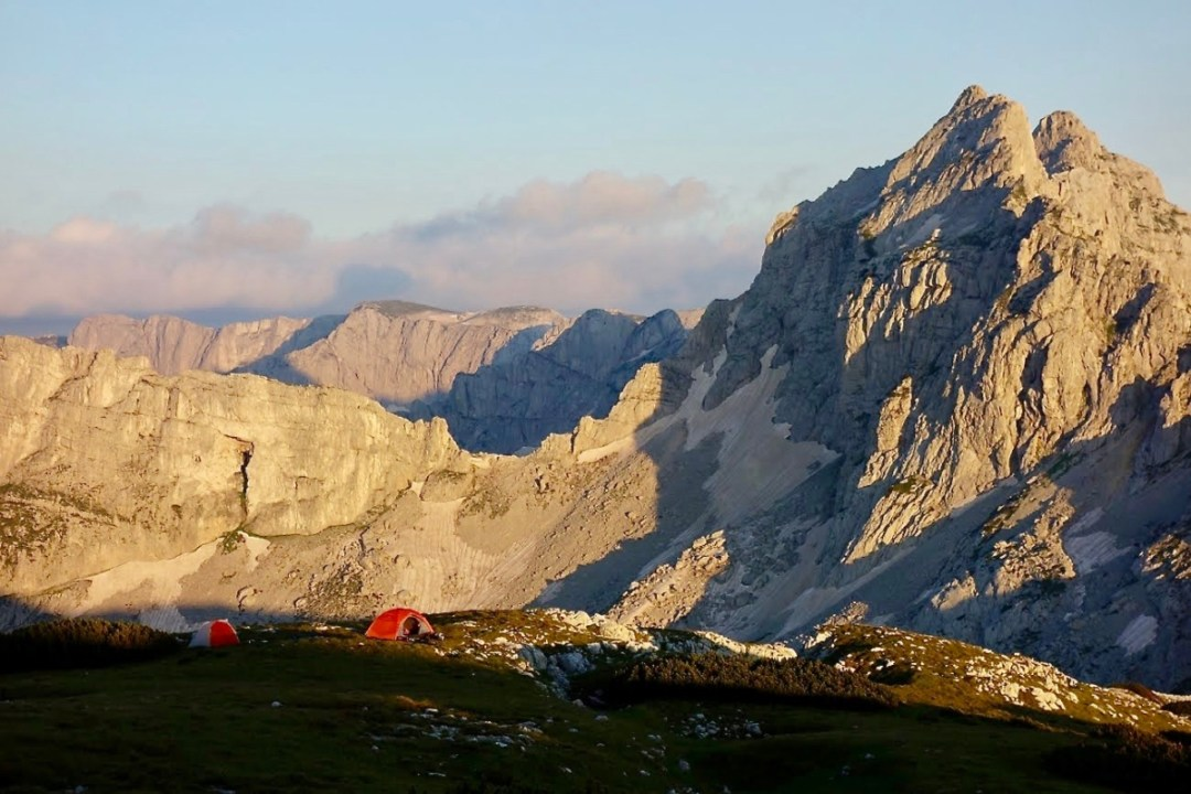 Evening in the mountains - Roadtripping, Hiking & Camping Montenegro Best Places