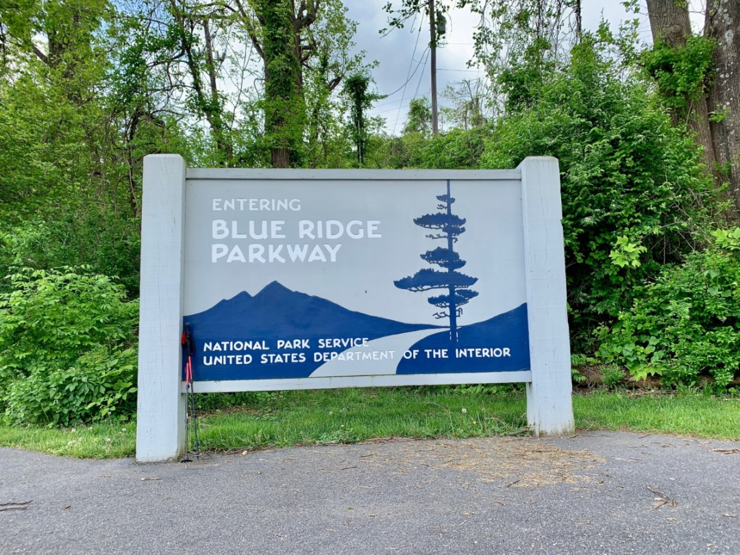 Blue Ridge Parkway sign - Visit Waynesboro Virginia: Gateway to the Shenandoah Valley