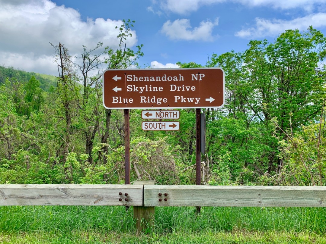 Skyline Drive Parkway Sign - Visit Waynesboro Virginia: Gateway to the Shenandoah Valley