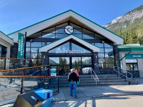 Banff Gondola Entrance