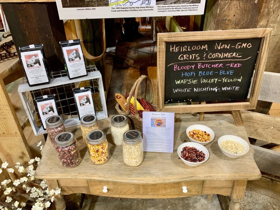 Wades Mill Products - Scenic & Historic Things to Do in Lexington, Virginia