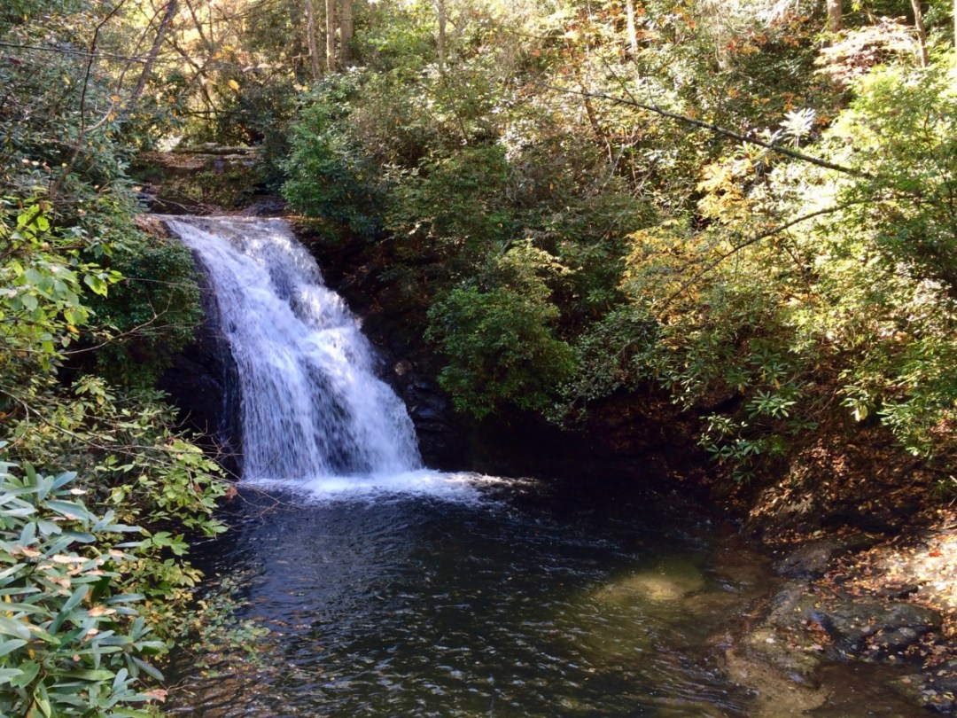 Blue Hole Falls - North Georgia Swimming Holes & Waterfalls You Can Swim In