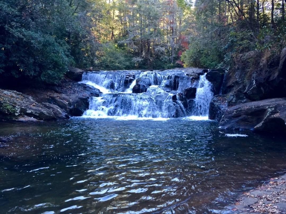 Dicks Creek Falls - North Georgia Swimming Holes & Waterfalls You Can Swim In