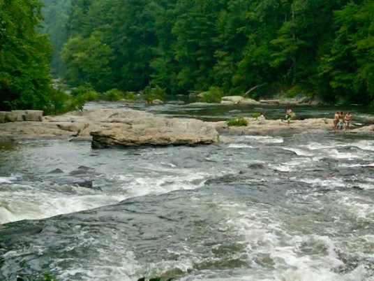 Georgia Swimming Holes: Edge of the World