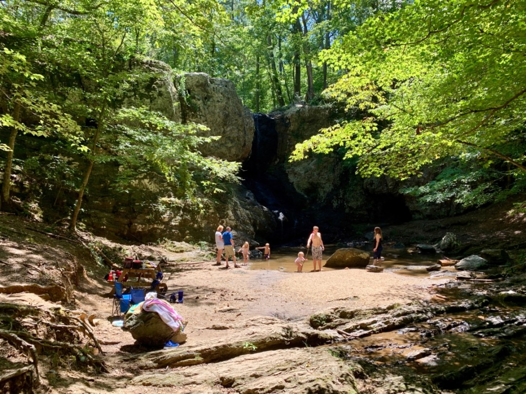 High Shoals Falls Dallas Georgia - North Georgia Swimming Holes & Waterfalls You Can Swim In