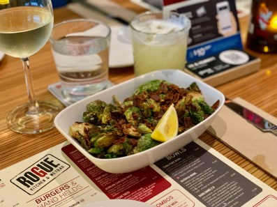 Roasted Brussels Sprouts from Rogue Kitchen