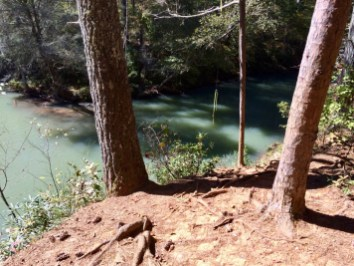 Rope Swing at Devil's Elbow
