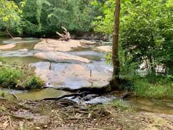 Settlingdown Creek Shoals