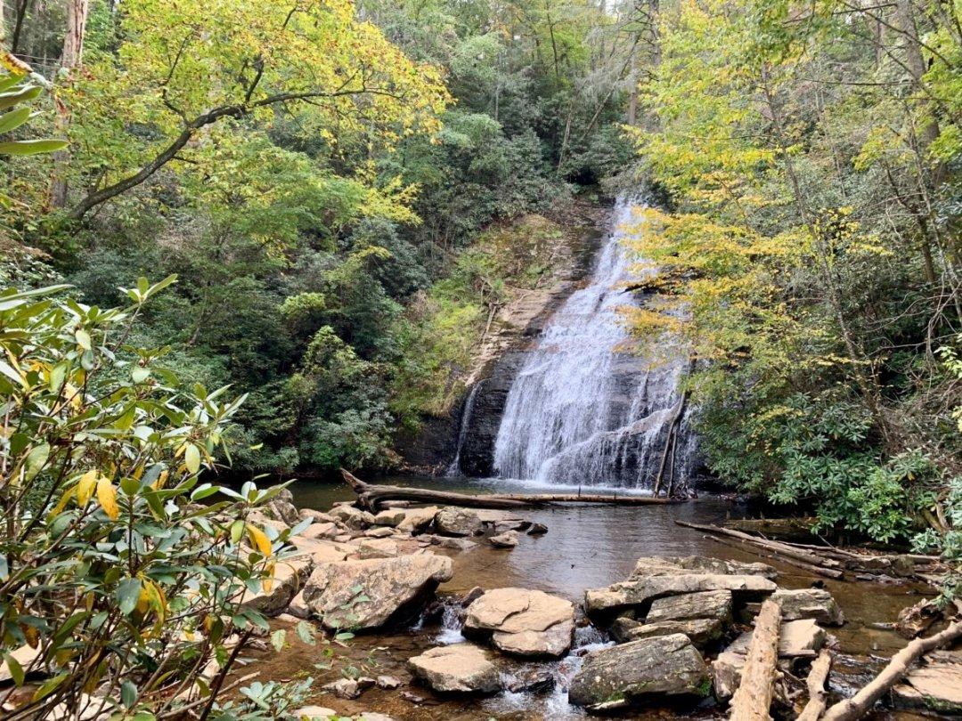 Upper Helton Falls - North Georgia Swimming Holes & Waterfalls You Can Swim In