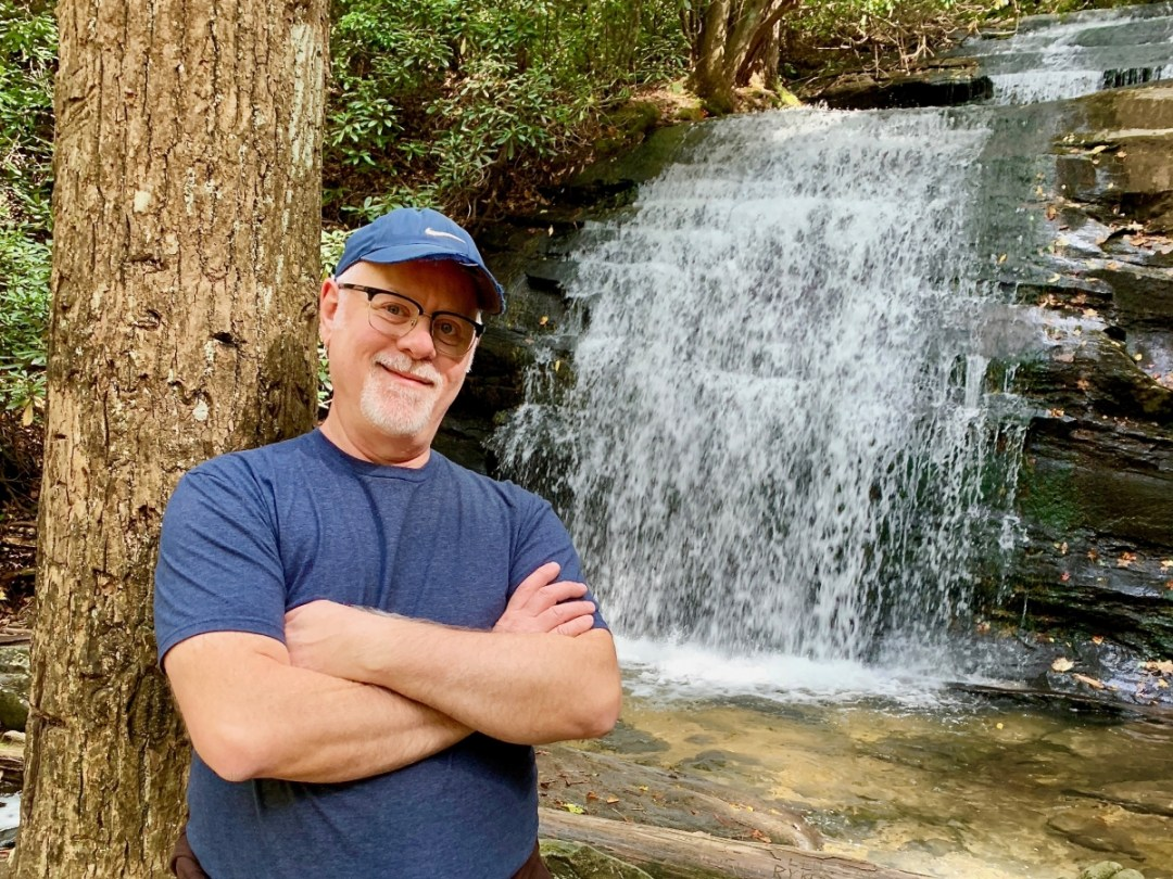Howard Blount at Long Creek Falls  - Design Your Own Georgia Road Trip (USA)