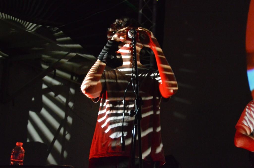 Nicola Giunta of Lay Llamas at Liverpool PsychFest 2014. Photo by Simon Delic