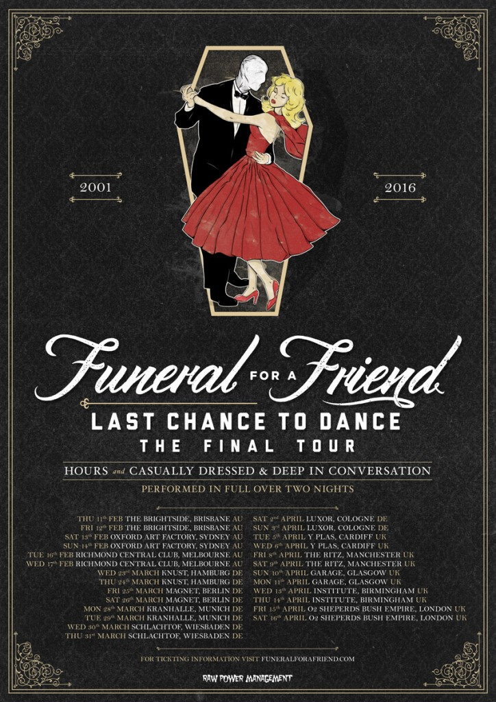 funeral for a friend last chance to danc