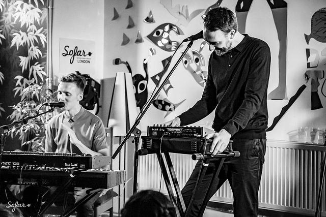 HONNE at Sofar Sounds London. By Kamila Drobinska