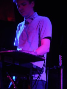 Teleman's keyboard player