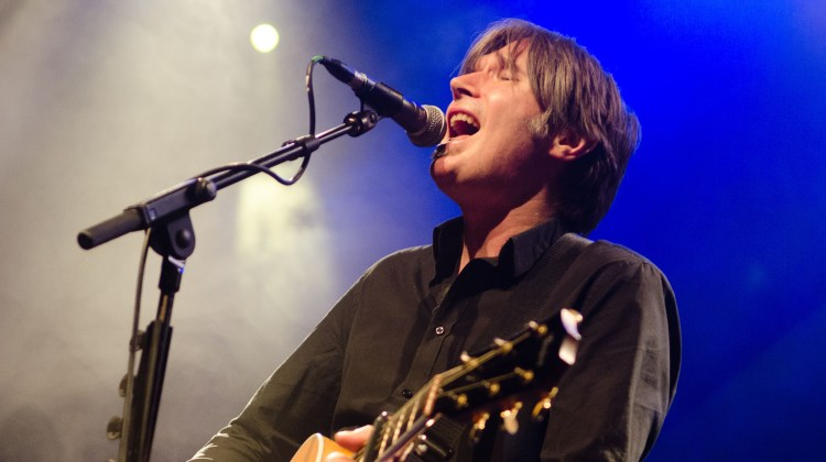 Justin Currie on stage at O2 ABC Glasgow on 14 October 2017