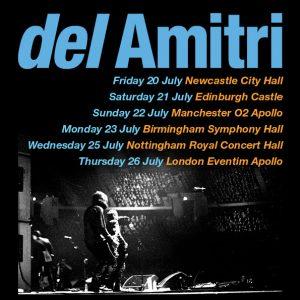 Promo image of Del Amitri 2018 UK tour dates