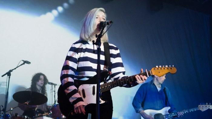 Alvvays on stage at O2 ABC Glasgow on 18 February 2018