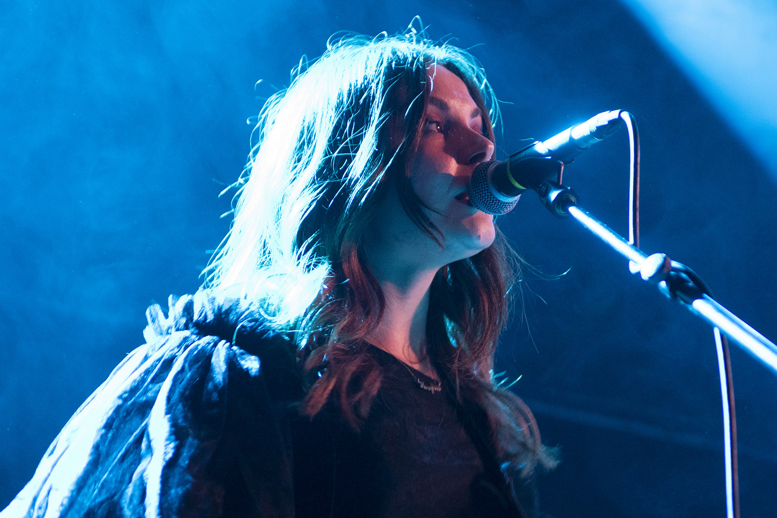 Honeyblood on stage at the QMU Glasgow on 24 October 2019