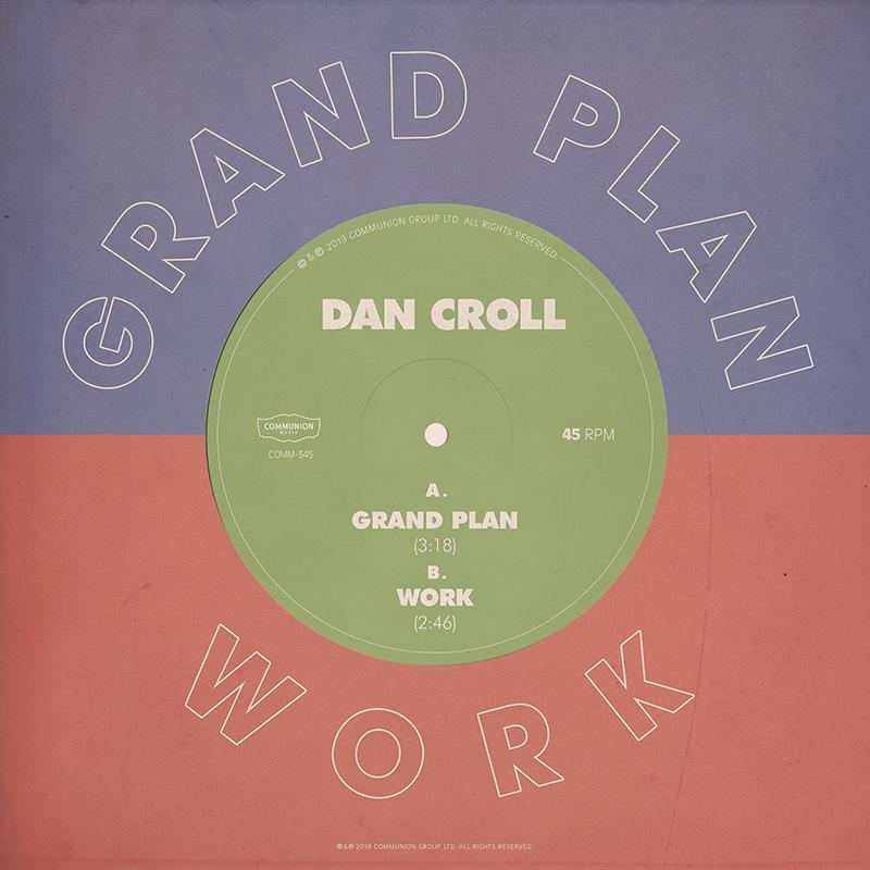 Dan Croll Grand Plan and Work Album Cover