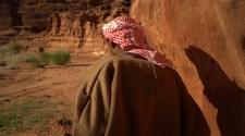 A Bedouin in the Wadi Rum