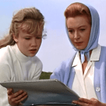 Hayley Mills and Deborah Kerr