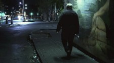 Jerry walking the streets