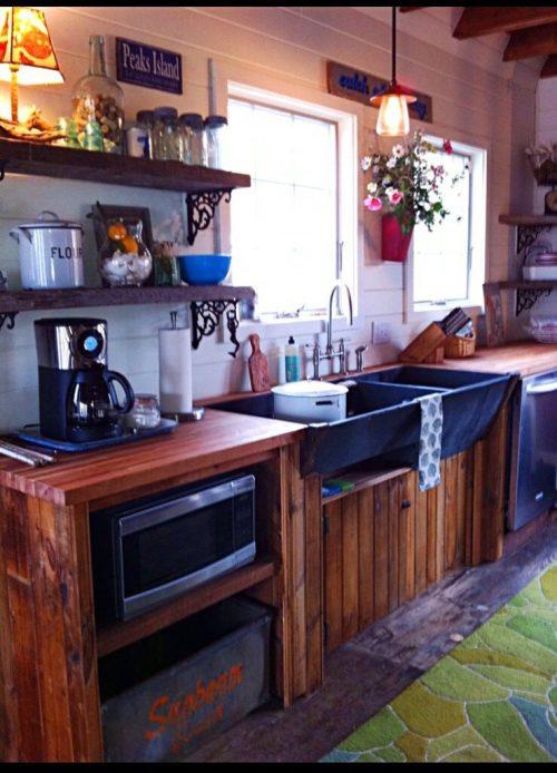 Peaks Island kitchen
