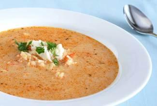 Σούπα με γαρίδες