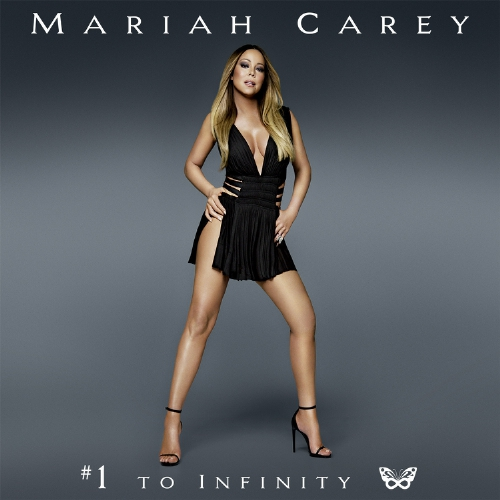 "Mariah Carey Signed to Epic Records by Antonio ""L.A."" Reid - #1 To Infinity Arrives May 18th (PRNewsFoto/Epic Records)"