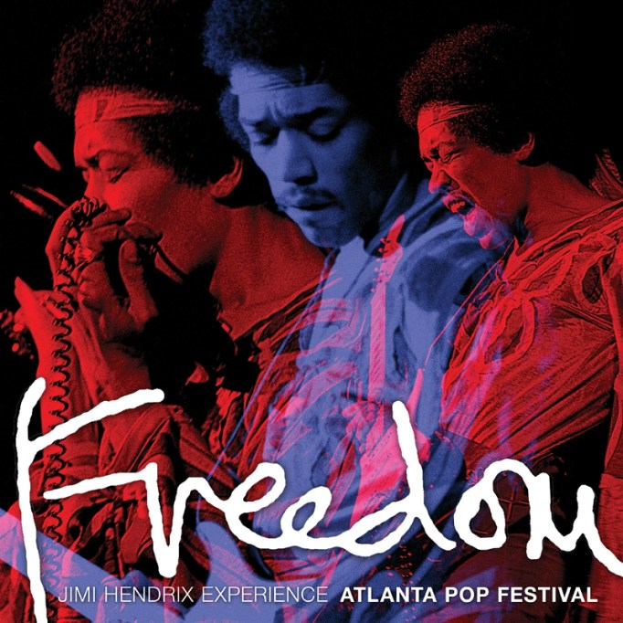 JIMI HENDRIX EXPERIENCE FREEDOM: ATLANTA POP FESTIVAL 2CD/2LP OUT AUGUST 28 (PRNewsFoto/Legacy Recordings)