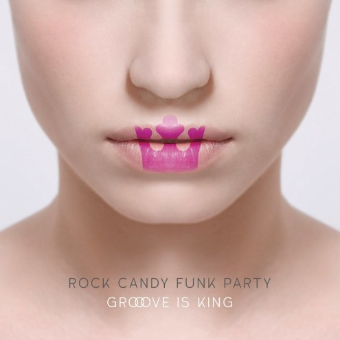 Funk and jazz band Rock Candy Funk Party (RCFP) will release their sophomore studio album Groove Is King on July 31, an aural kaleidoscope that mashes up funk, rock, dance, electronica, jazz and R&B into 14 original tracks and 2 covers full of space, texture, and virtuoso musicianship. Included is a bonus DVD with over 50 minutes of in-studio footage. Powered by a lineup of world-renowned players, they are: album producer Tal Bergman (drums), Joe Bonamassa (guitar), Ron DeJesus (guitar), and Mike Merritt (bass). (PRNewsFoto/J&R Adventures)