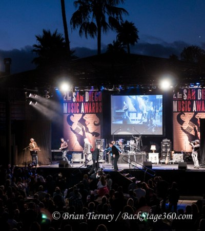 The 21st Annual San Diego Music Awards were held Monday, Aug 8th at Humphrey's Backstage Live in San Diego. The Penetrators performed and received a Lifetime Achievement Award.
