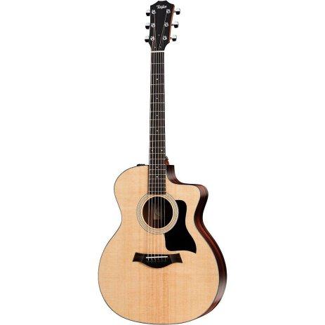 taylor 100 series 2017 114ce rosewood grand auditorium acoustic electric guitar natural. Black Bedroom Furniture Sets. Home Design Ideas
