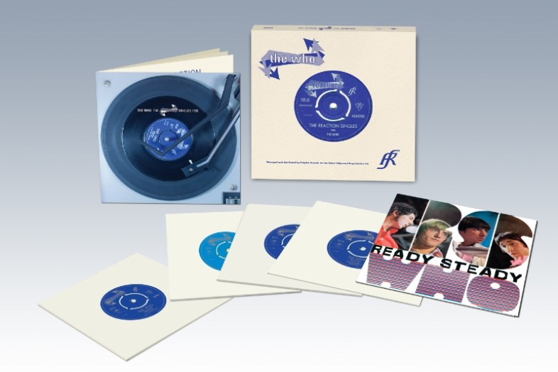 "The Who ""The Reaction Singles 1966"" vinyl box set released August 14, 2015 (PRNewsFoto/Universal Music Enterprises)"