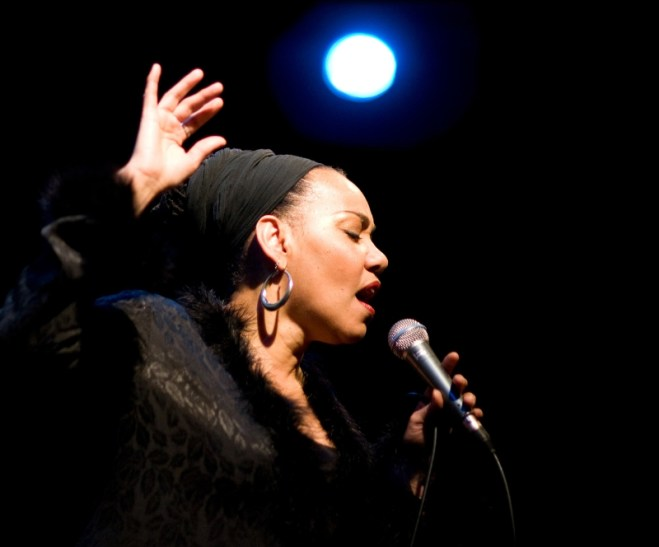 Internationally Famous Jazz Vocalist Deborah Davis (PRNewsFoto/Flushing House)