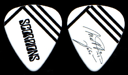 Backstage Store Catalog Scorpions Guitar Pick Style 1